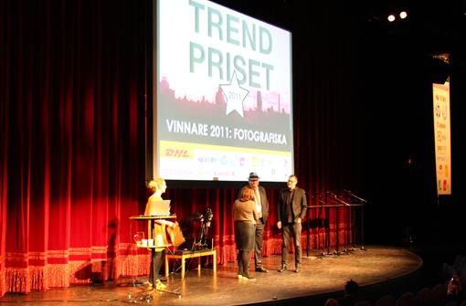 2011 års vinnare av Trendpriset på Trendgalan - Fotografiska